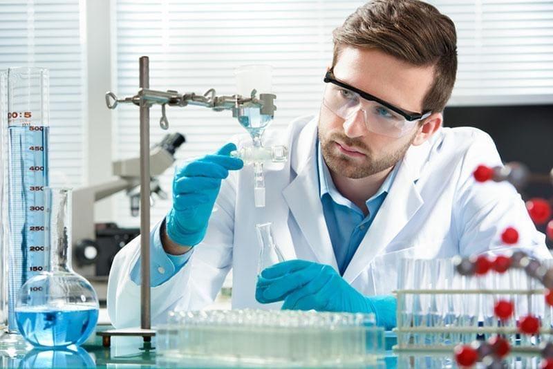 Kontrola jakości laborant