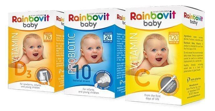 Rainbovit baby