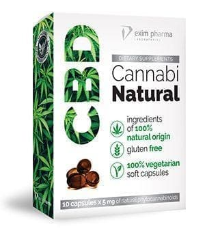 CBD Cannabi Natural 10 Kaps