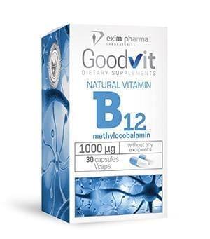 Goodvit Natural Vitamin B12 1000