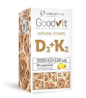Goodvit Natural Vitamin D3+K2