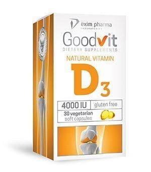 Goodvit Natural Vitamin D3 4000