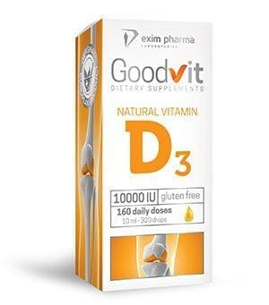 Goodvit Natural Vitamin D3 10000 – krople
