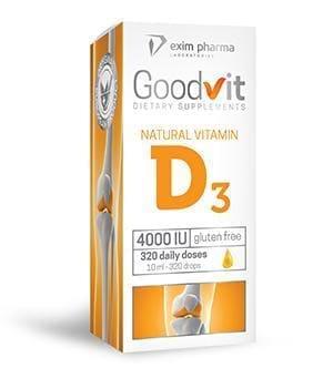 Goodvit Natural Vitamin D3 4000 – krople
