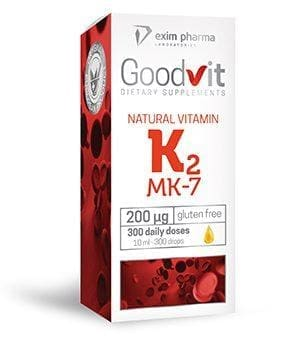 Goodvit Natural Vitamin K2 200 μg – drops