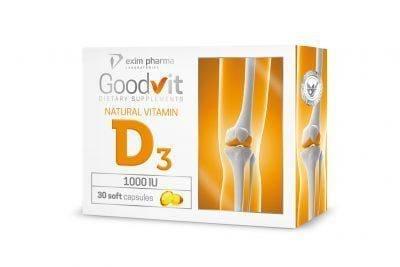 Goodvit Natural Vitamin D3 1000
